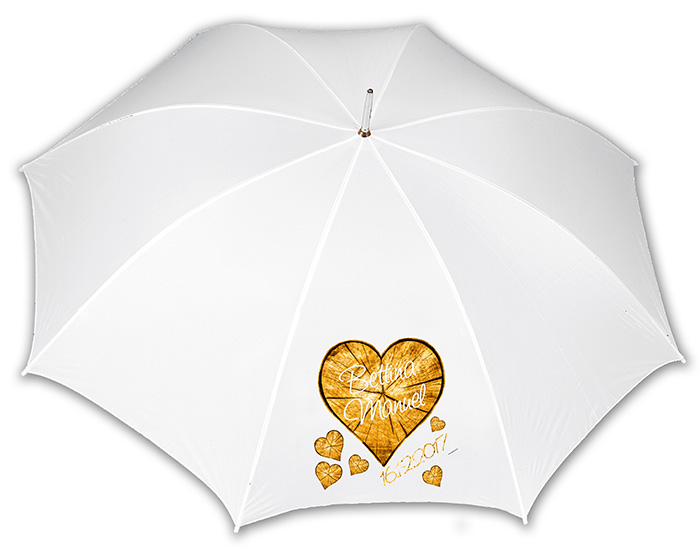 Regenschirme schnell bedruckt und geliefert
